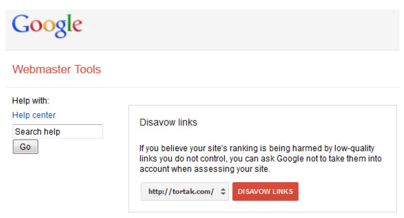 Disavow links رونمایی گوگل از ابزار Disavow Links