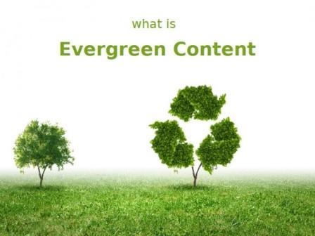 محتوای همیشه سبز محتوای همیشه سبز چیست؟