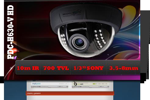 دوربين دام PDC-H630V HD