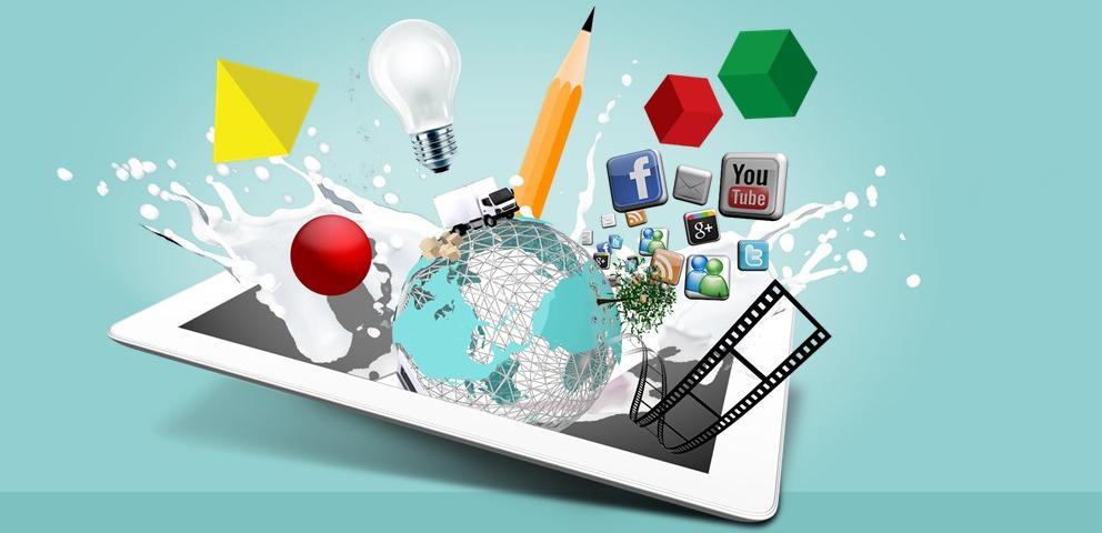 بازاریابی اینترنتی - محنوای چند رسانه ای بازاریابی شبکه ای به روش اینترنتی