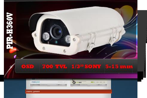 دوربين صنعتي PIR-H360V