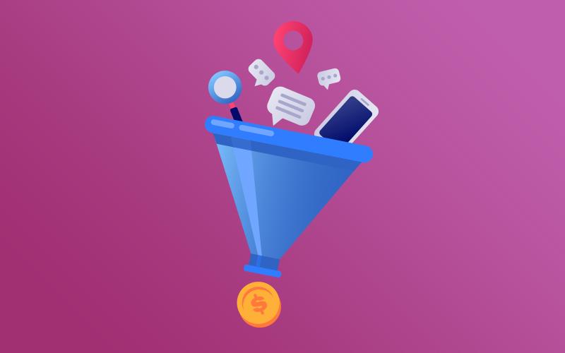 قیف فروش به زبان ساده ( مراحل + مثال کاربردی ) قیف فروش به زبان ساده ( مراحل + مثال کاربردی )